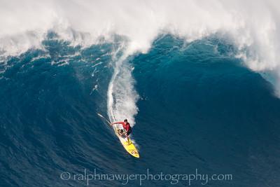 Surfing - Jaws (Pe'ahi), Maui 2015