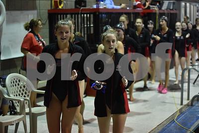Ames @ Fort Dodge Girls Swimming 9/12/17