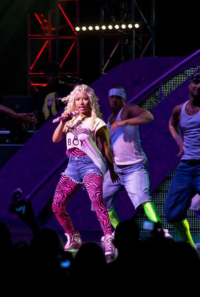 Nicki Minaj July 31, 2012