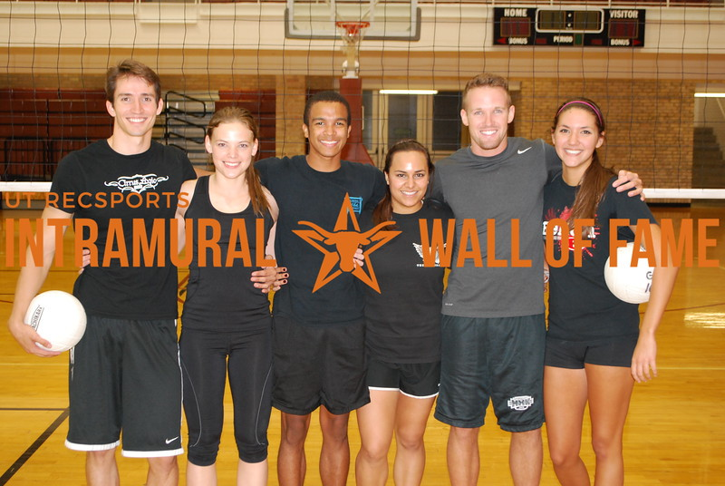SUMMER VOLLEYBALL Runner Up  Notorious D.I.G.  Kurt Fellows, Kaci Erwin, Jeremy Gatson, Marely Zamarron, Hunter Hames, Elizabeth Boriack