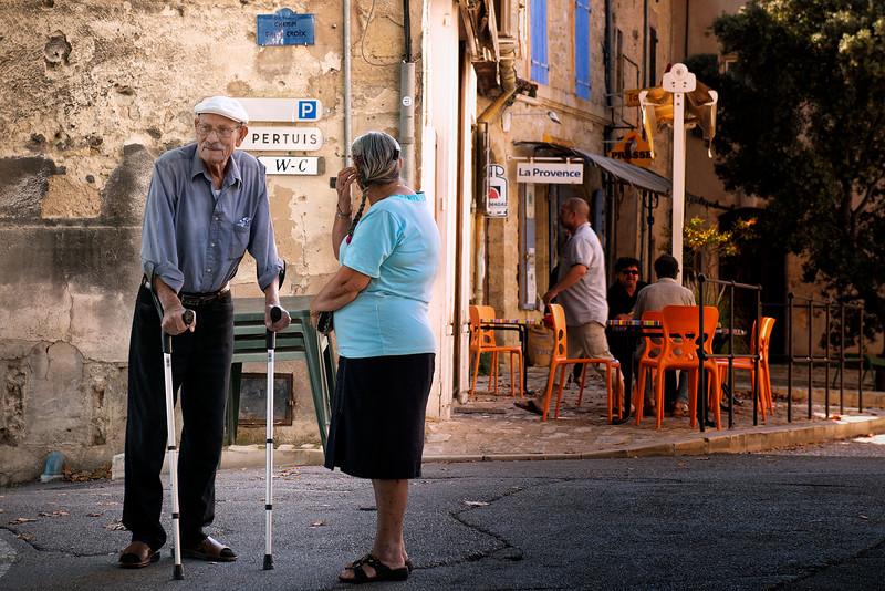 Street scene in Ansouis