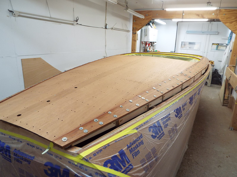New starboard cover boards installed.