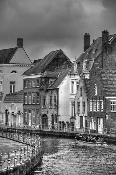 Canal - Brugge, Belgium - November 3, 2010