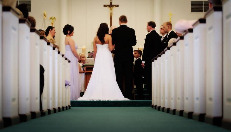 Jill & Josh wedding ceremony