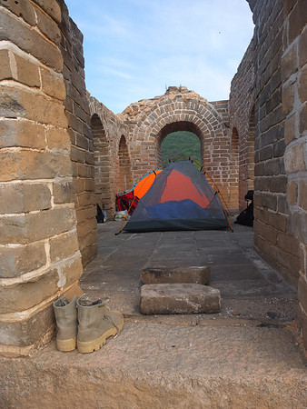【summer】spring mountain great wall camping