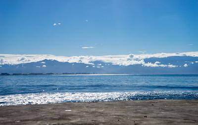 View from La Cruz de Huanacaxtle to Puerto Vallarta