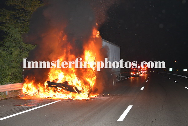 JERICHO FD TRUCK MVA & FIRE 6-4-19