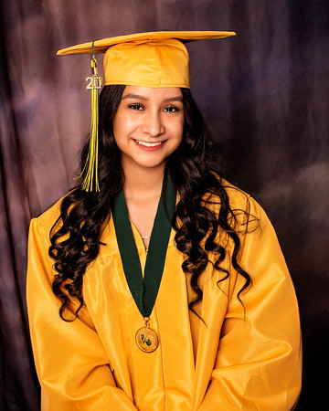 Malena cap and gown