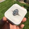 1.75ctw Edwardian Toi et Moi Old European Cut Diamond Ring  5