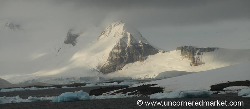 Mountains, Icebergs and Glaciers - Antarctica