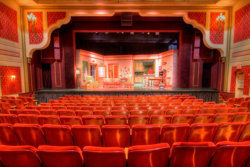 The historic Barter Theatre in Abingdon, VA on Saturday, October 20, 2012. Copyright 2012 Jason Barnette