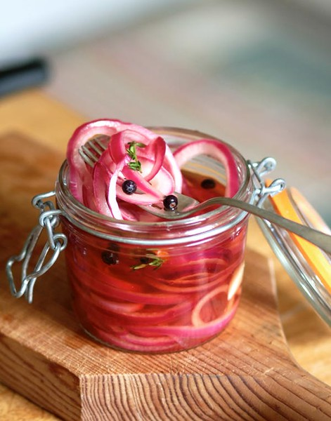 Quick-Pickled Onions