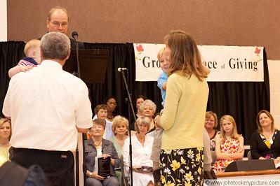 2010 05 May Parent Child Dedication