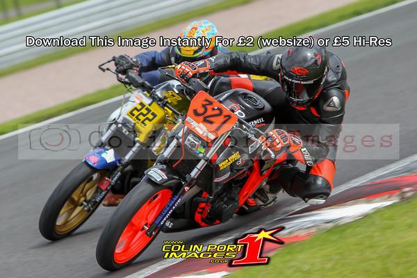 HONDA 500s A&B RACE 1 OULTON THUNDERSPORT 2016