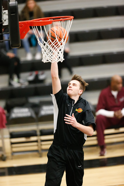 GHS Boys Basketball vs Peoria Jan. 15, 2018
