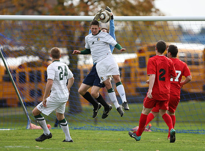 Brockport Men v. Cortland Red Dragons (SUNYACS) 10-30-10