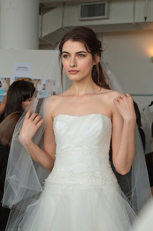 Behind the scenes: bridal fashion week New York April 2014