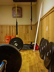 Alana Grimolfson's Home Gym