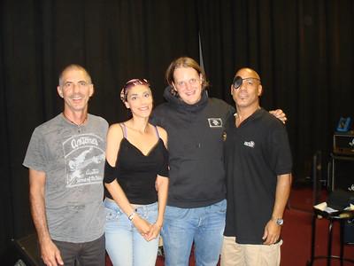 With Joe Bonamassa Rehearsals & Hang