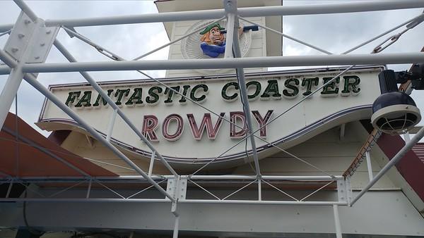 Fantastic Coaster Rowdy