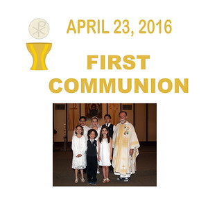 First Communion 2016 - St. Thomas More Newman Parish