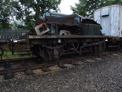 ZSV - 2 Axle Container Flat Wagon (Conflat A)