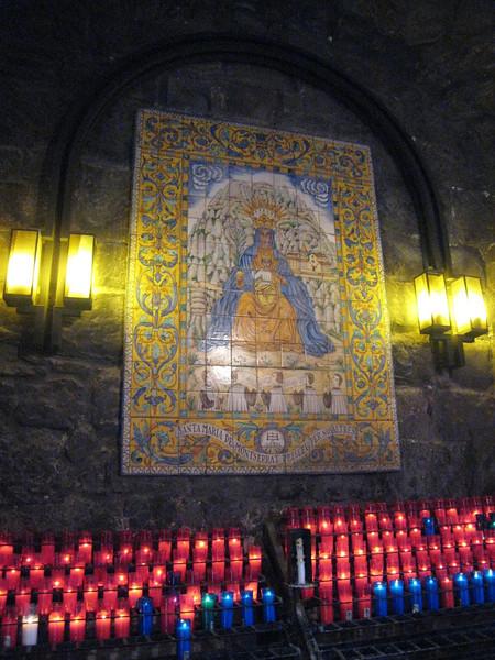 Montserrat - Benedictine Monastery - Candle Room