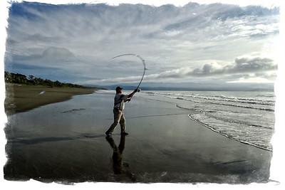 Costa Rica Surf Fishing