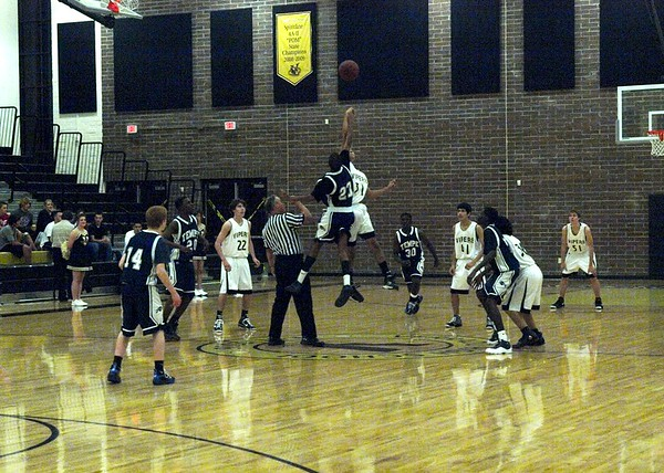 Basketball Boys JV vs Tempe 12/1/2009