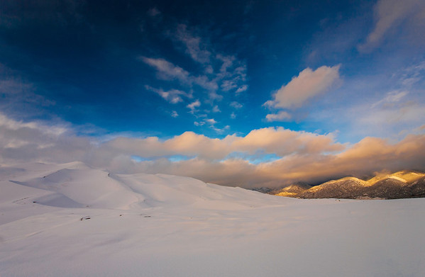 Great Sand Dunes National Park. February 2014