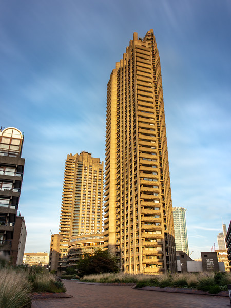 Barbican estate towers