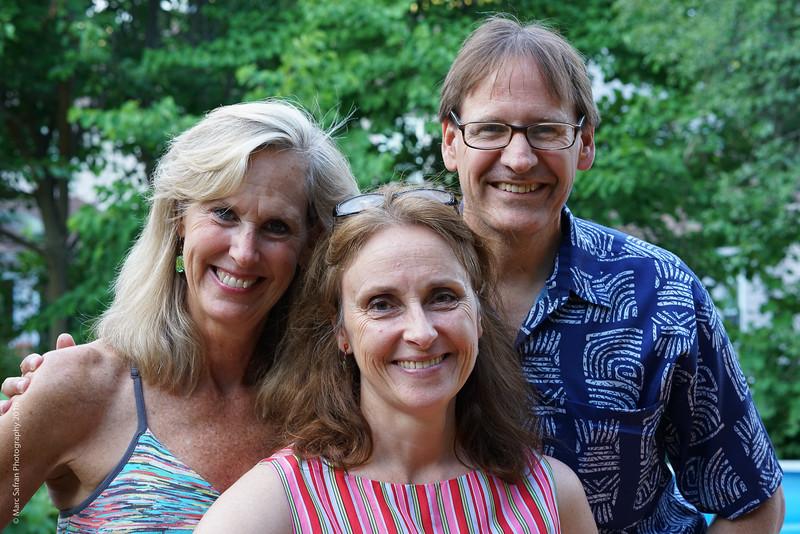 Michael and Kerin Rigney, Trina Luttinger