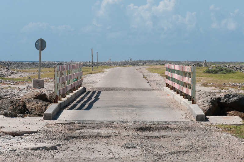 Small bridge on the island of Bonaire