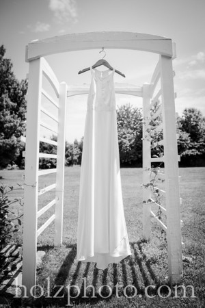 Samantha & James B/W Wedding Photos