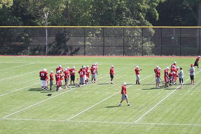 Football: St. John's Preseason (8/10/2010)