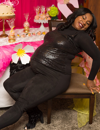 Quiana Yarnell's Flutter & Buzz Baby shower