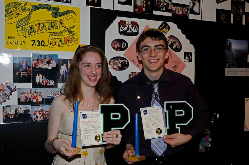 PHS Thespian Induction 2008