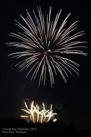 Canada Day Fireworks Markham