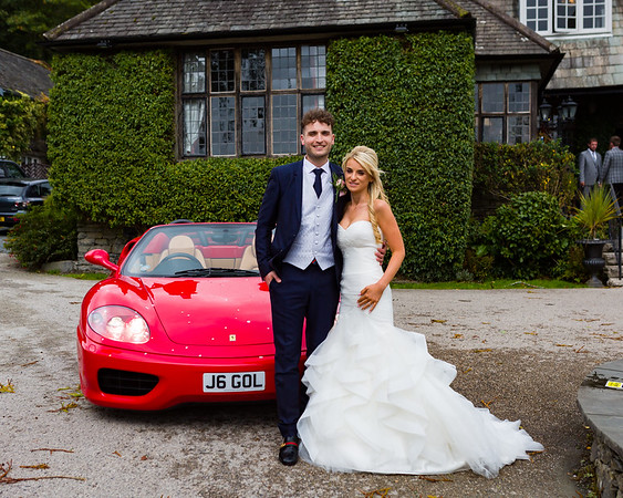 Becky and Nico at Broadoaks Country House Hotel, Troutbeck, The Lake District.