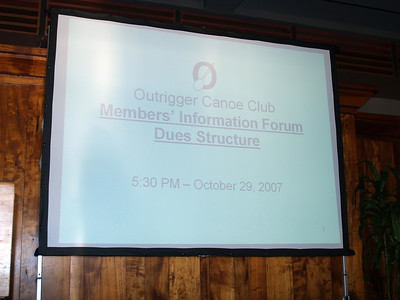 2007 Membersʻ Information Forum 10-29-2007