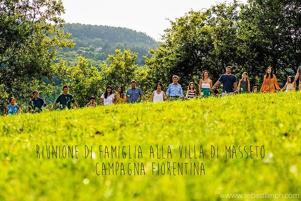 Servizio fotografico di famiglia nelle campagne fiorentine