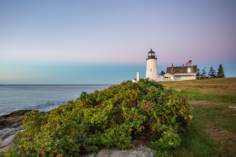 Morning light on Pemaquid Light