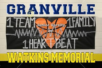 2016 Granville at Watkins Memorial (02-09-16 Junior Varsity