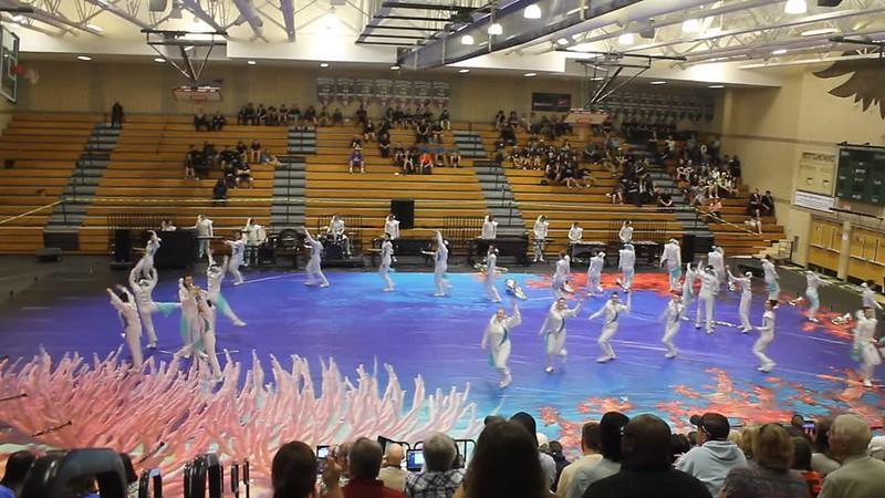 Cleveland HS Visual Ensemble Winds  VIDEO 3-25-17