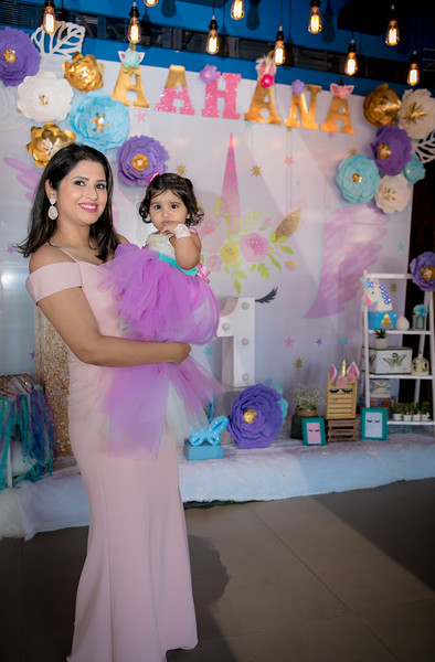 Aahana turns One