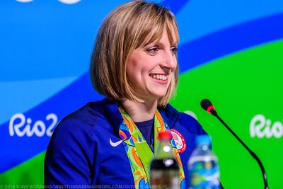 Katie Ledecky Presser