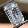 3.04ct Emerald Cut Diamond, GIA F VS1 1