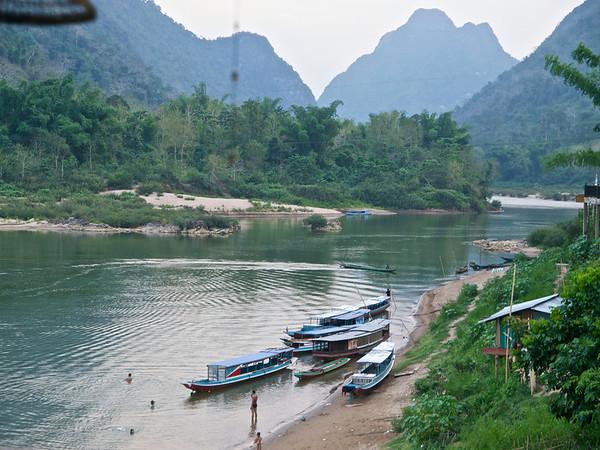 Boat Ride Muang Klaw to Muang Ngoi Neua