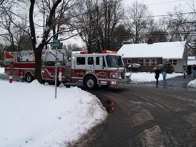 Oradell, NJ - Oradell Fire Department's Annual Santa Detail