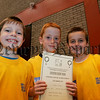 Alan McNamee, Caolan Savage and Shane Mulcahy pictured at the Newry and Mourne leisure services summer camp 2006. 06W31N19